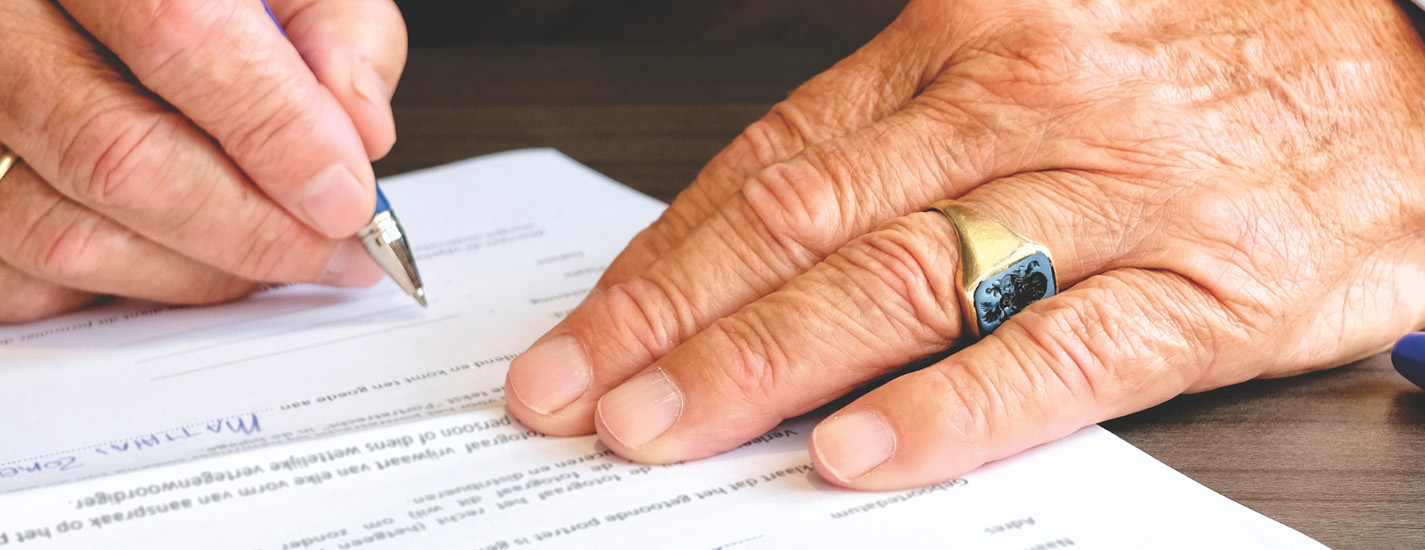Are your account beneficiary designations up to date? Read the fine print.