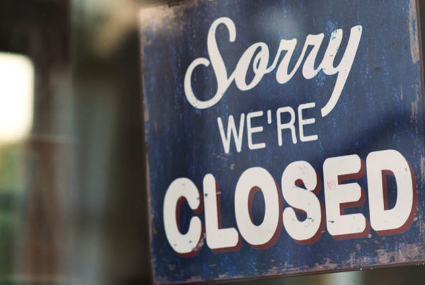what happens when a corporation closes